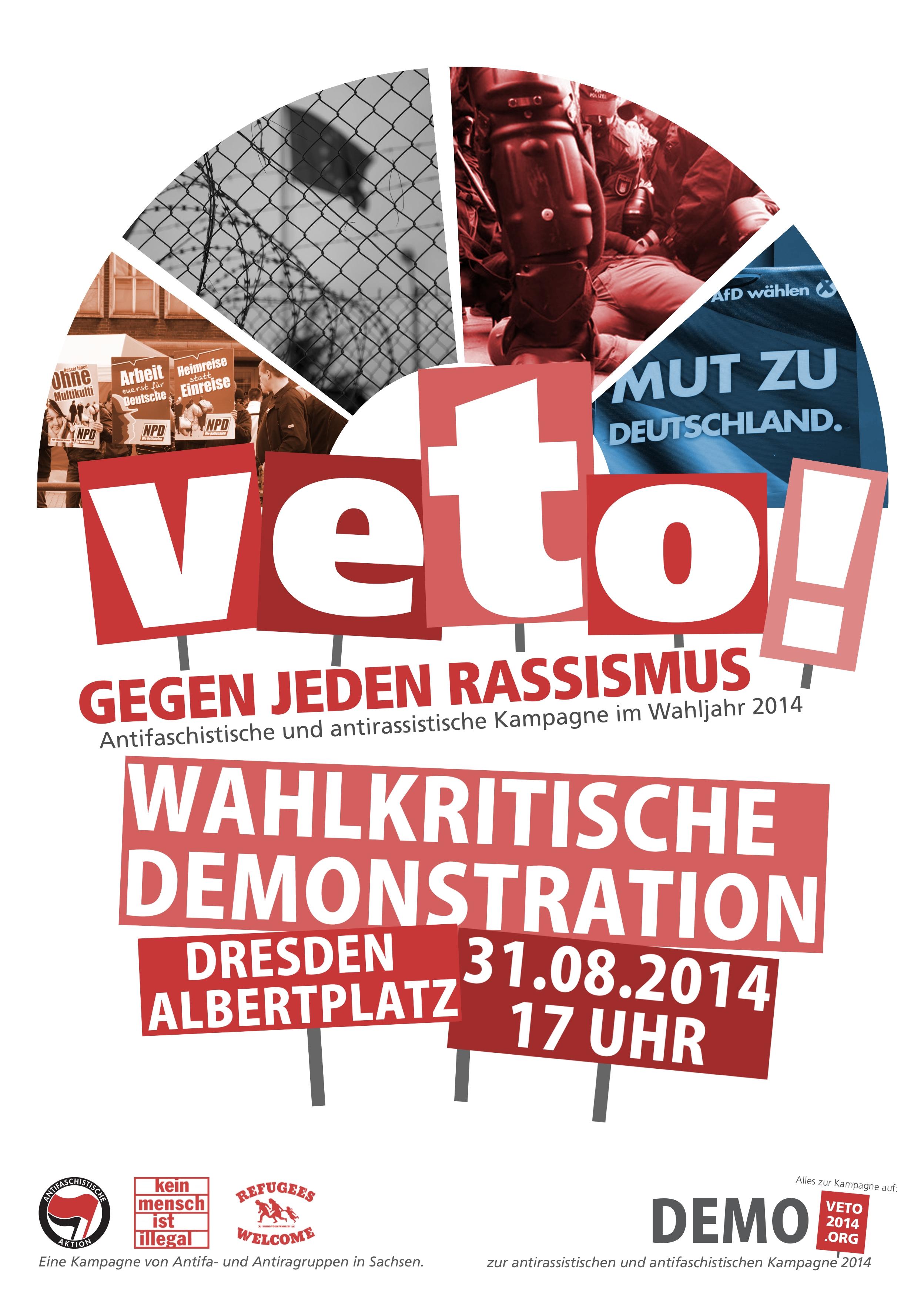 Veto!2014 Gegen jeden Rassismus